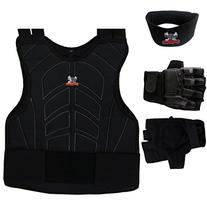 Maddog Padded Chest Protector, Tactical Half Glove, & Neck