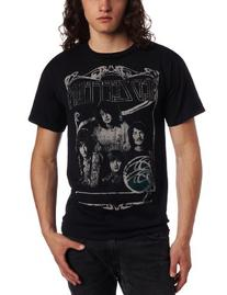 FEA Merchandising Men's Led Zeppelin Good Times Bad Times T-