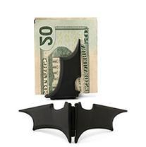 GuDeKe Unisex's Zinc Alloy Man Batman Batarang Money Clip