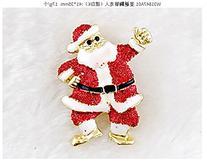12pcs Zinc Alloy Unisex Christmas Brooch Party Gift Brooch