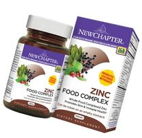 New Chapter Zinc Food Complex, 60 Tablets