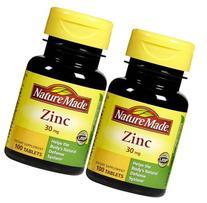 Zinc 30 mg Tabs - 30 mg - 100 ct - 2 pk