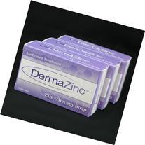 DermaZinc Zinc Therapy Soap 120g bar - 3 Pack