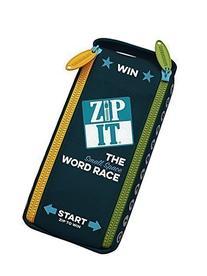 Zip - It Crossword Race Board Game
