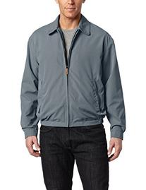 London Fog Men's Zip Front Light Mesh Lined Golf Jacket,