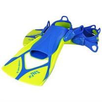 Zip VX Fin - Neon/Blue - Size Medium