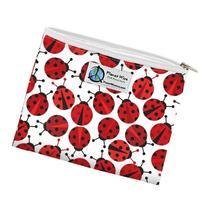 Planet Wise Zipper Bag, Ladybug