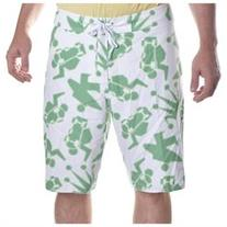 Stussy Men's Zipper Fly Pull String Board Shorts