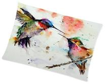 Zippered Hummingbird Watercolor Painting Pillowcase Covers