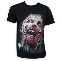 Walking Dead Zombie Face Tee Shirt