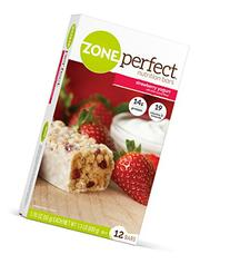 ZonePerfect Nutrition Bars, Strawberry Yogurt, 1.76 oz, 12