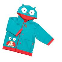 Skip Hop Zoo Little Kid and Toddler Hood Rain Jacket, Medium