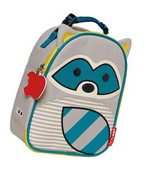 Skip Hop Zoo Insulated Lunch Bag, Riggs Raccoon