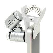 Qooltek 60X Zoom LED Clip-type Loupe Microscope Jewelry