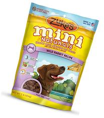 Zukes 613423330267 DOG MINI NATURAL RABBIT 16OZ