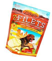 Zukes Z-Filets High Protein Dog Treats, Grilled Chicken Recipe - 3.25 Oz